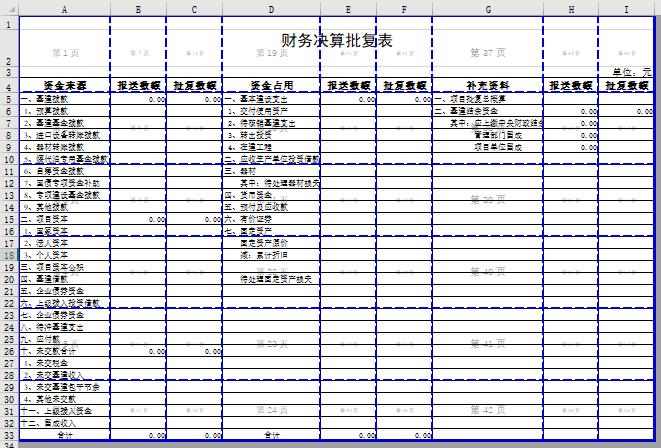 决算_财务决算批复表 | 苏州通商软件